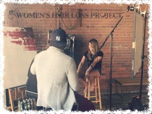 Women's Hair Loss Project BTS
